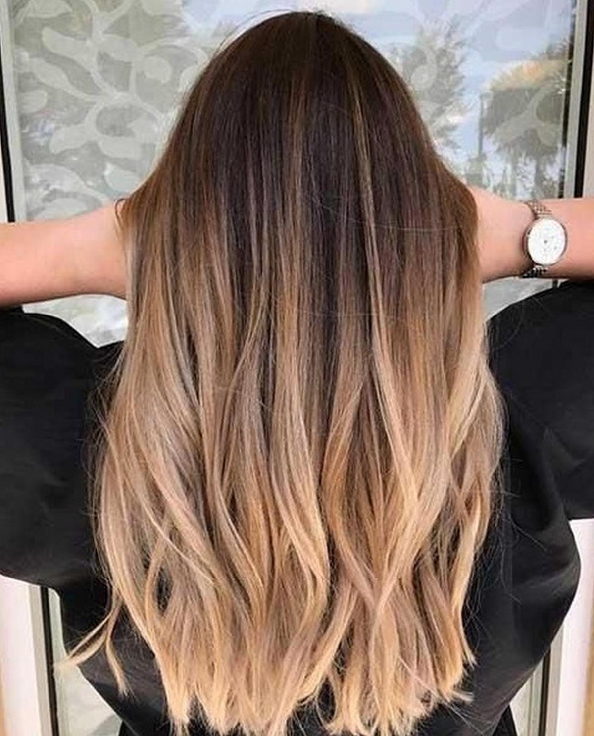 Frisuren Und Haarfarbentrends 2018